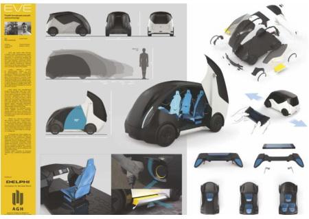 EVE – Projekt koncepcyjny pojazdu autonomicznego