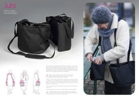 Juki – Torba na zakupy dla osób starszych