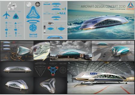 Koncepcja samolotu w 2030
