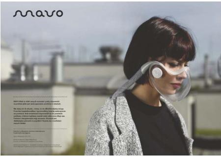 MAVO – projekt maski antysmogowej