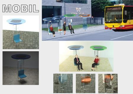 Mobil – Wiata autobusowa