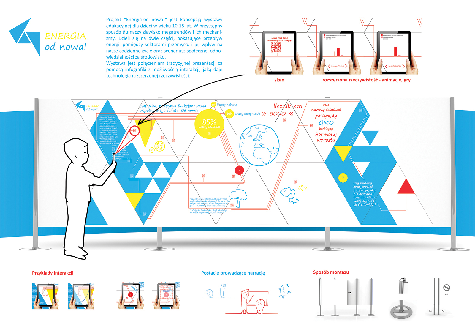 Energia Od Nowa - wystawa dla dzieci