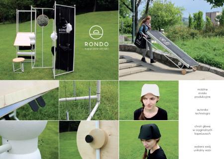 RONDO – Mobilne stoisko do produkcji nakryć głowy