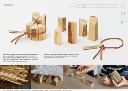 Rodzina – drewniane zabawki dla dzieci