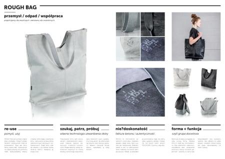 Rough bag – seria toreb z odpadów skór