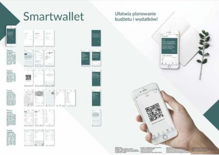 SMARTWALLET – Aplikacja służy do przechowywania i katalogowania dowodów zakupu.