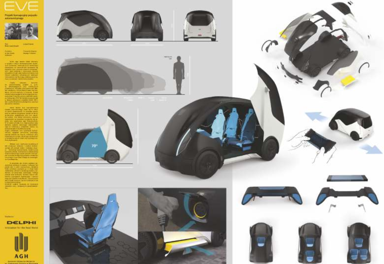 Projekt koncepcyjny pojazdu autonomicznego