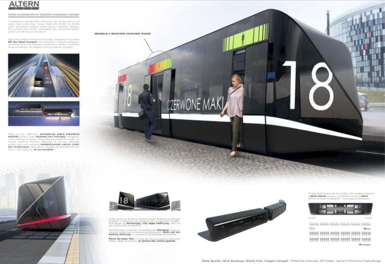 ALTERN - system autonomicznych pojazdów komunikacji miejskiej