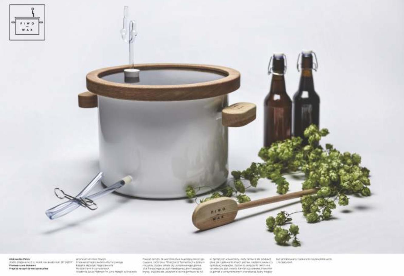 Piwo-War Naczynia do warzenia piwa