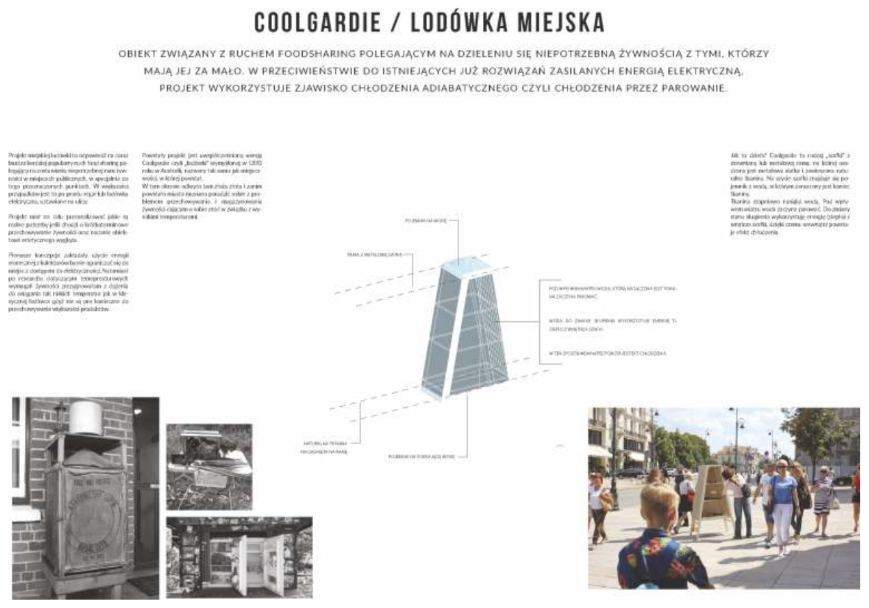 COOLGARDE - lodówka miejska