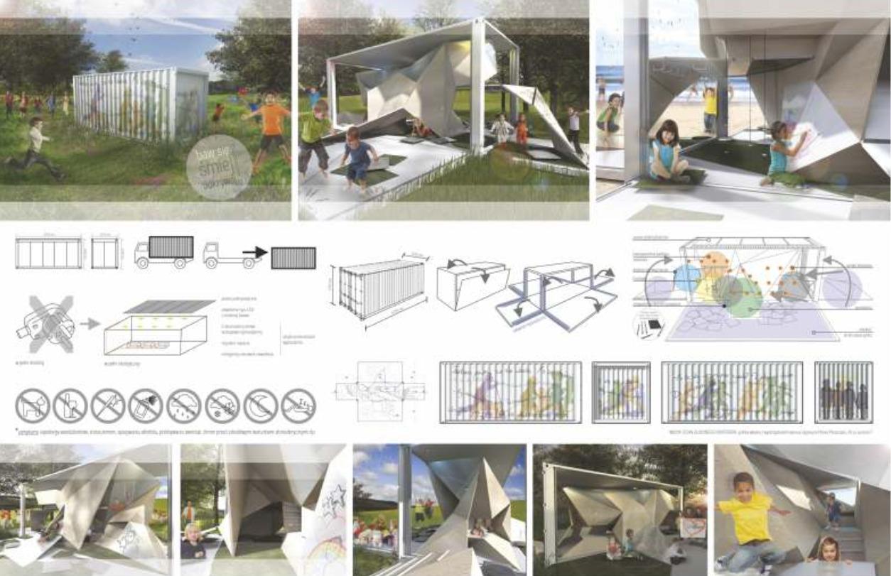 SANFLORO - koncepcja przestrzeni zabaw dla dzieci