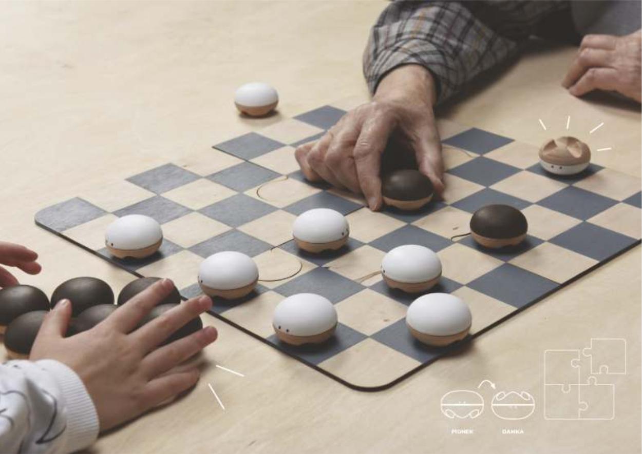 Projekt koncepcyjny gry planszowej - warcaby