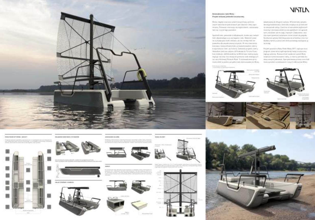 Doświadczanie rzeki Wisły - projekt wiślanej jednostki turystycznej Vistla