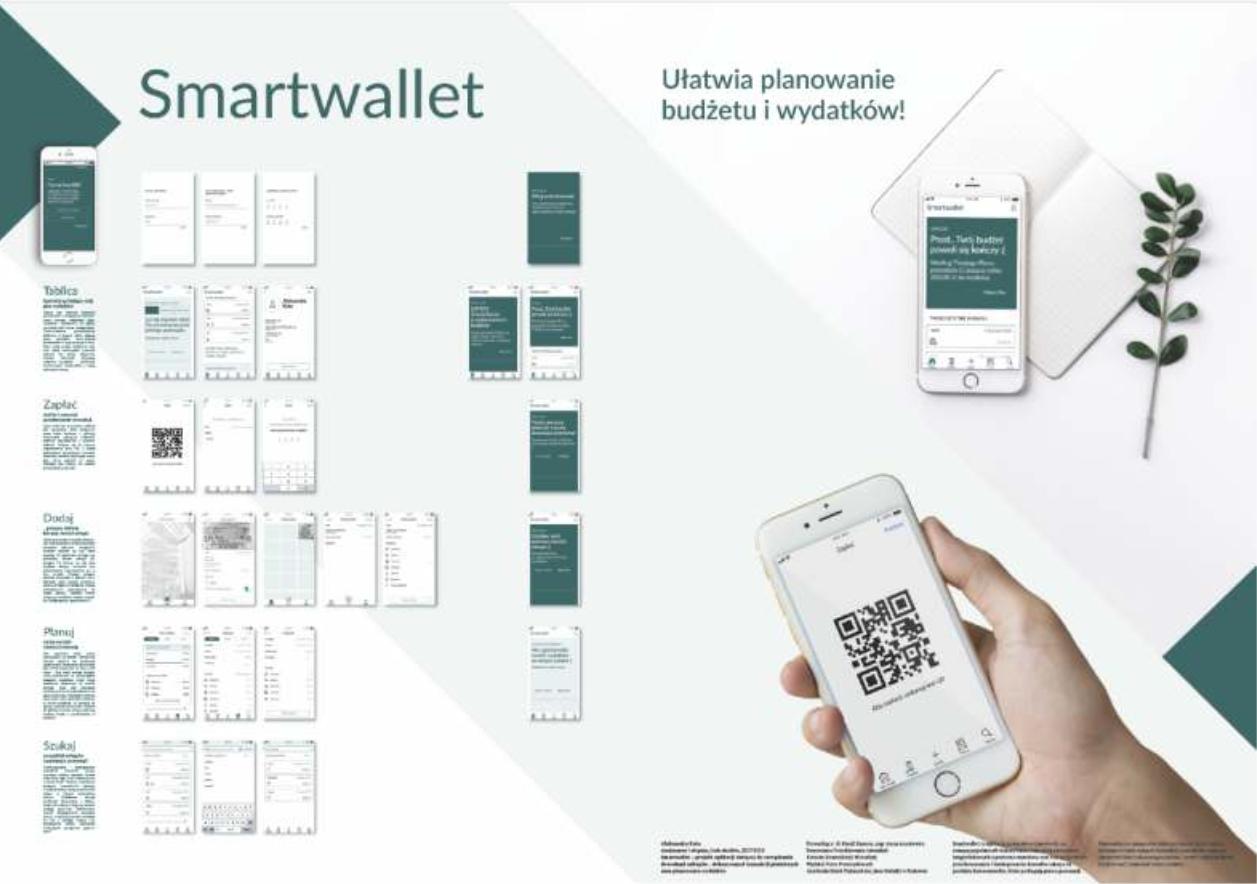 SMARTWALLET - Aplikacja służy do przechowywania i katalogowania dowodów zakupu.