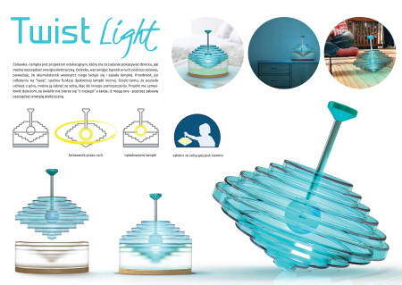 Twist light – zabawka edukacyjna dla dzieci
