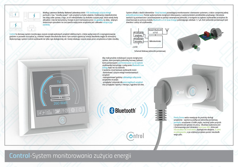 Control - system monitorowania zużycia energii