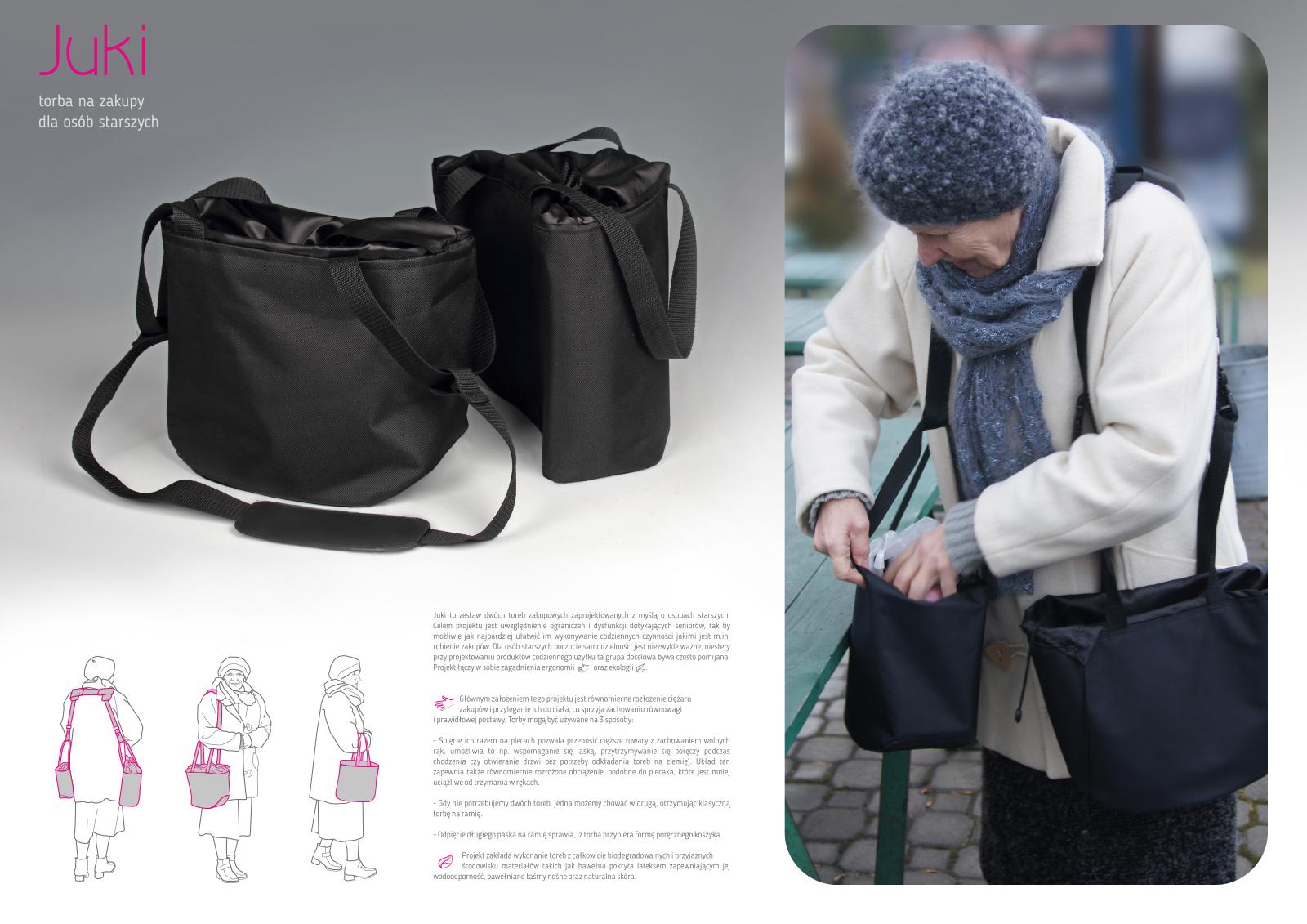 Juki - Torba na zakupy dla osób starszych