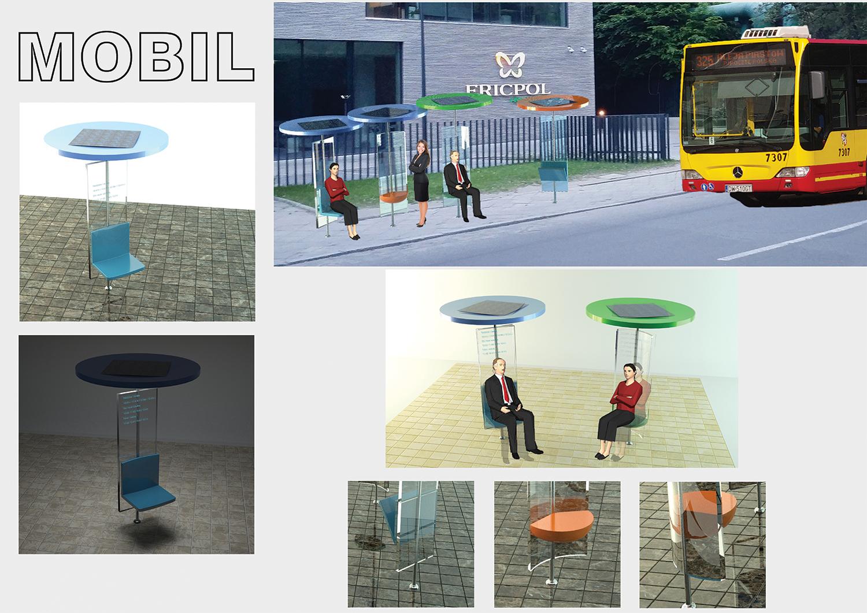 Mobil - Wiata autobusowa
