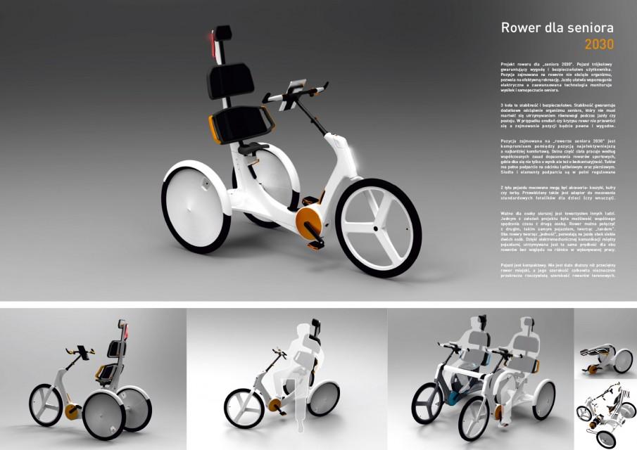 Rower dla seniora - Borowicz