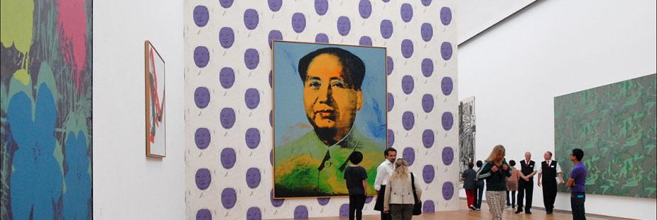 Wycieczka wideo z retrospektywą Andy'ego Warhola w Tate Modern