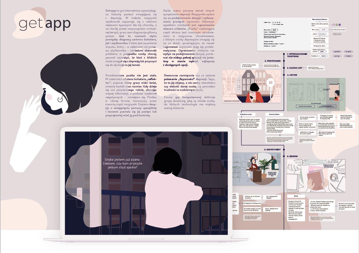 Get.app - gra zwiększająca świadomość społeczną depresji