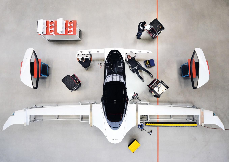 Lilium samolot elektryczny