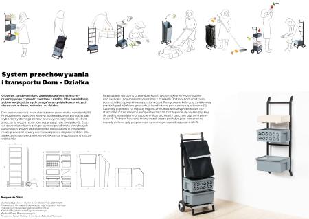 System Przechowywania i Transportu Dom-Działka