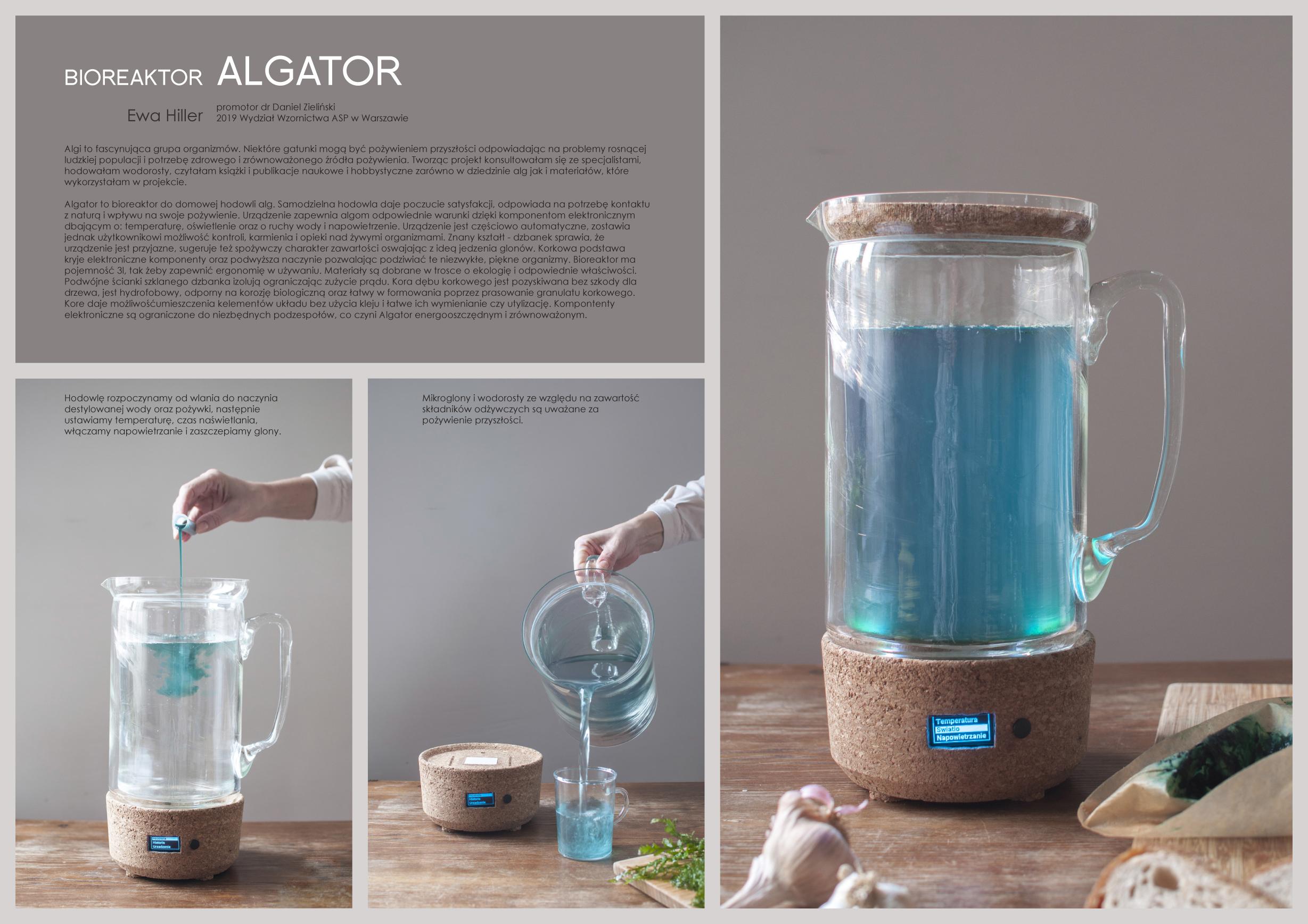 Bioreaktor Algator