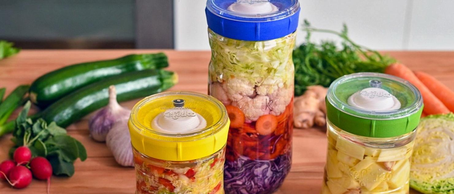 KEFIRKO – Naczynie do fermentacji to interesujący sposób na przygotowanie pikli, czy kapusty kiszonej.