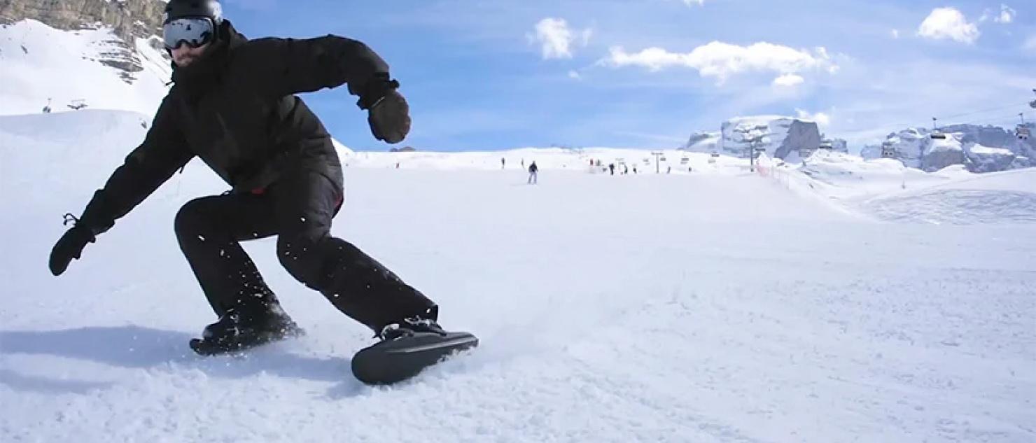 Snowfeet II – zamień swoje buty w mini narty