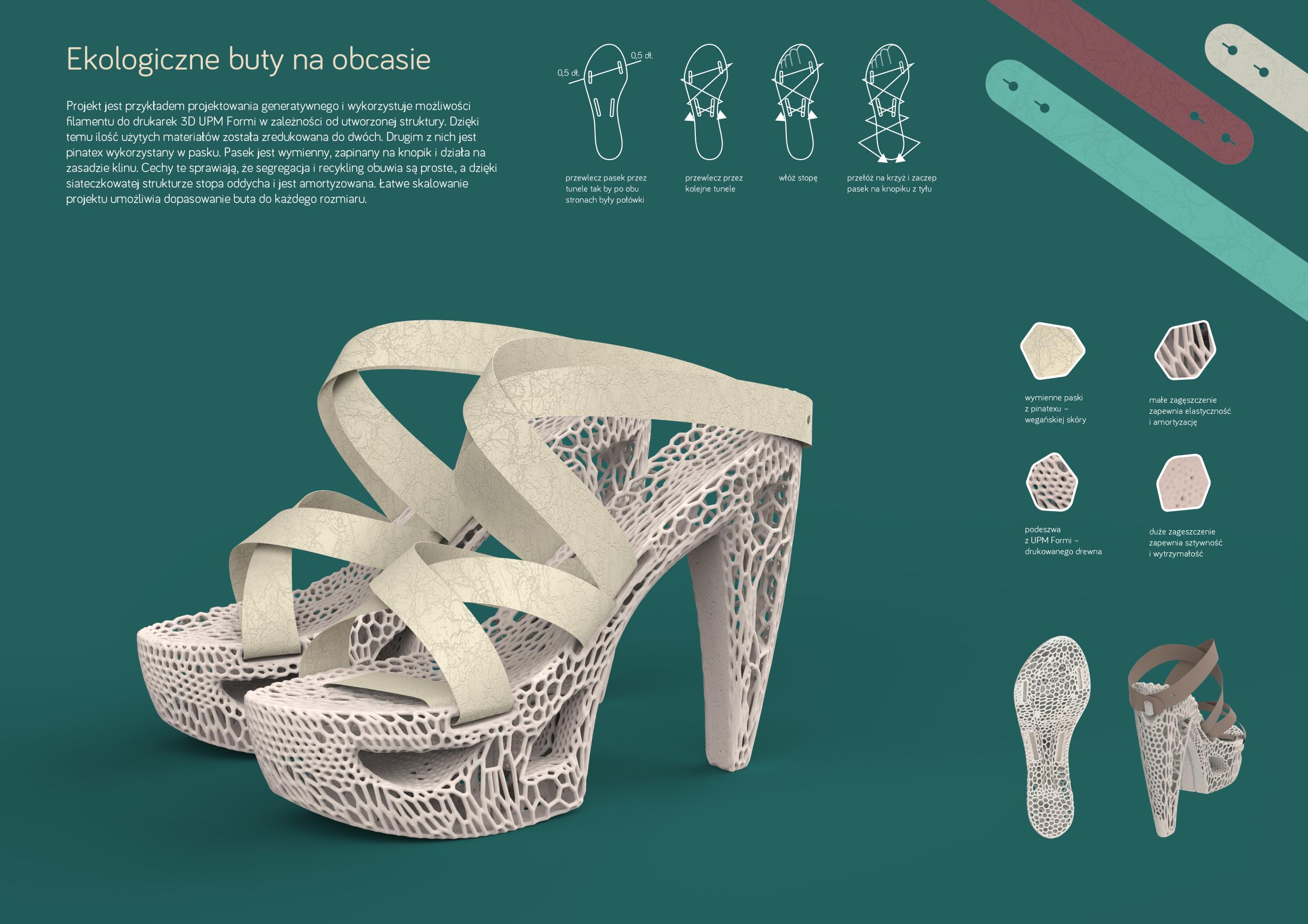 Ekologiczne buty na obcasie