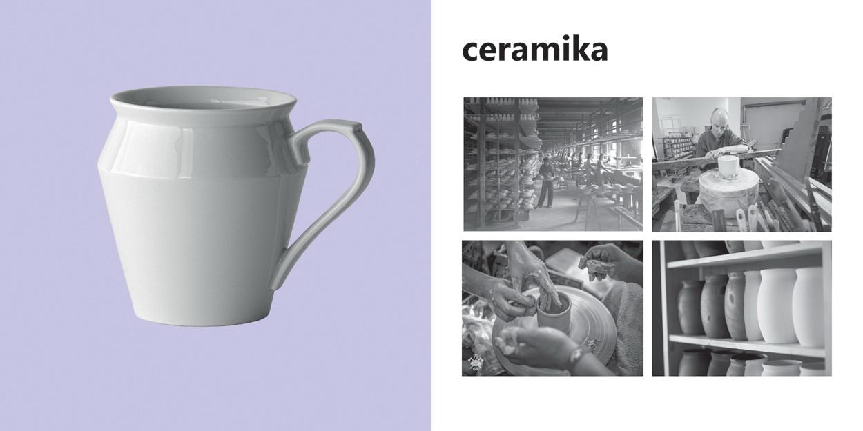 Ceramika - wyroby z wypalanej gliny towarzyszą ludzkości od stuleci