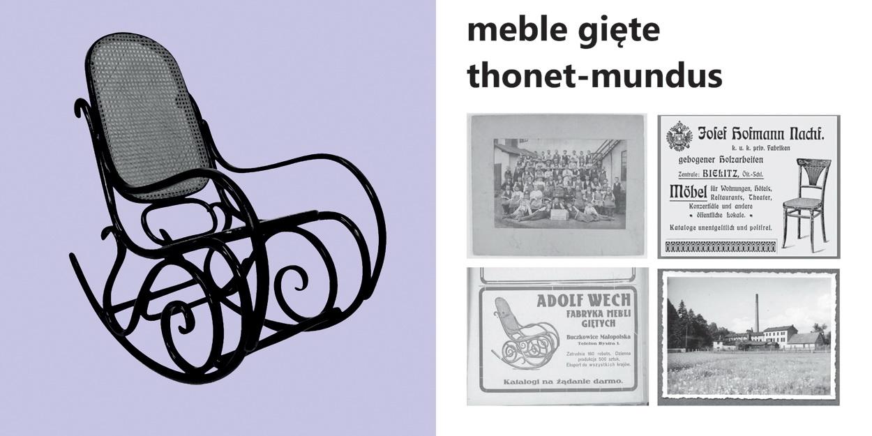Meble gięte thonet-mundus - do dziś stosowana technologia z XIX w.