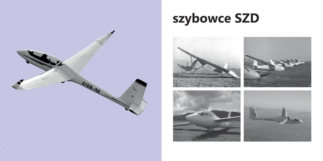 Szybowce SZD - modele na którychbito światowe rekordy lotnicze